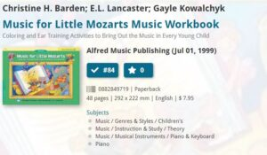 Music for Mozarts